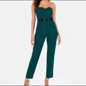 New express strapless jumpsuit